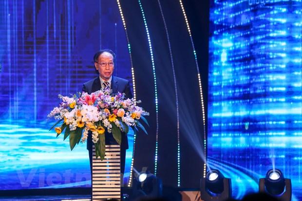 Ông Phạm Huy Hoàn - Tổng biên tập Báo Dân trí - Trưởng Ban tổ chức Giải